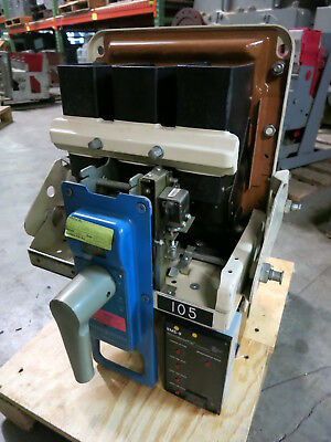 General Electric AK-2A-25-1 600A w LSI MicroVersa Trip Unit Air Breaker GE 2 A