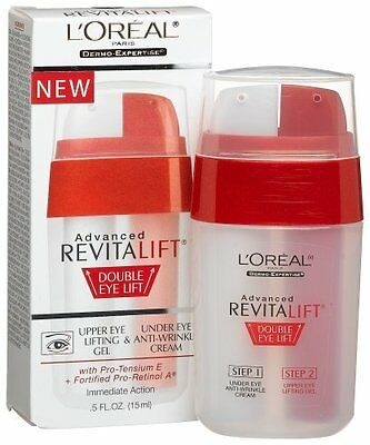 L'Oreal Paris Advanced RevitaLift Double Eye Lift, 0.5 Ounce