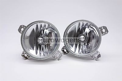 VW Golf MK2 Crystal Clear Front Spot Lights Lamps Pair Left Right Near Off Side
