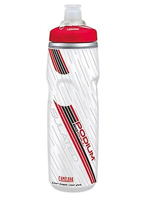 Camelbak Clear Red 2017 Podium Big Chill - 750 ml Drinks Bottle