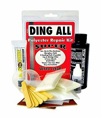 Ding All Super Polysester Surfboard Repair Kit