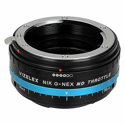 Fotodiox Objektivadapter Pro Nikon G Lens to Sony E-Mount - Variable ND Filter