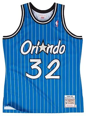 huge discount 0a0da 21e05 Shaquille O Neal Orlando Magic Mitchell   Ness Authentic 1994 Blue NBA  Jersey