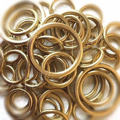 Heavy Brass O Ring - Solid - Cast - Various Sizes