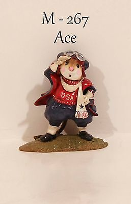 "Wee Forest Folk M-267 Ace RWB Initialed By ""AP"" With WFF Box"