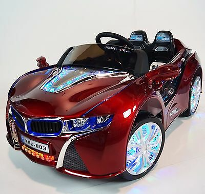 BMW i8 For Kids (model XMX803) Battery Ride On Car With Control Parents Red