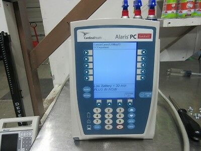 Cardinal Health Alaris PC 8000 Series Infusion Pump with pole clamp