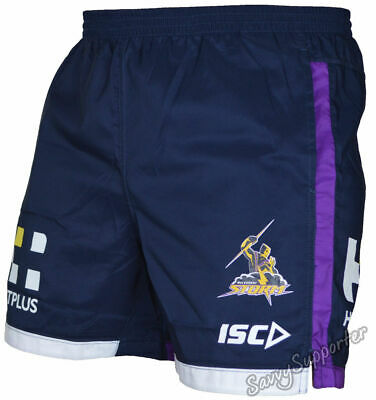Melbourne Storm 2017 NRL Training Shorts Adults and Kids Sizes BNWT