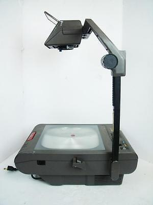 3M Model 2100 Portable Overhead Projector Transparency with Bulb Good Condition