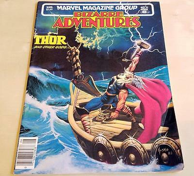 BIZARRE ADVENTURES THOR AND OTHER GODS Vol.1 No.32 Feb 1982 FN
