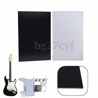 3Ply Guitar Bass Pickguard Blank Material Sheet Scratch Plate Pick Guard 29×43cm