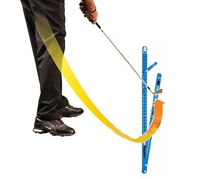 NEW Medicus GOLF Training Aid--VisionTrackPro 2# (Blue) Swing Path Trainer