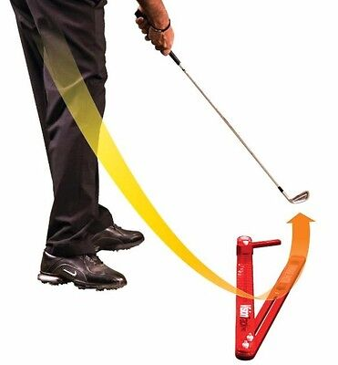 NEW Medicus GOLF Training Aid--VisionTrackPro 2# (Red) Swing Path Trainer