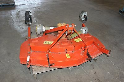 Tractor 3 Three Blade 540 rpm PTO Grooming Lawn Slasher Mower Cutting Deck
