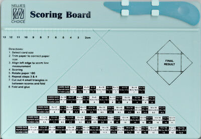 Nellie's Scoring Board - For Cards and Boxes
