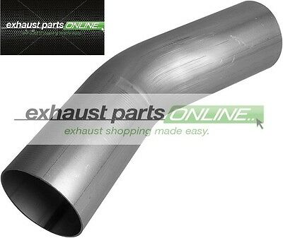 "3"" 76mm 30 DEGREE MANDREL BEND MILD STEEL EXHAUST PIPE"