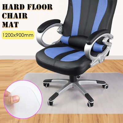 1200 x 900mm Home Office Hard Floor Protector PP Chair Mat Planar Square Cushion