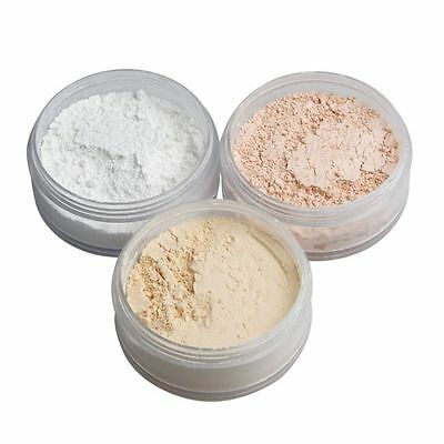 Translucent Mineral Facial Makeup Smooth Foundation Loose Powder Finish Powder