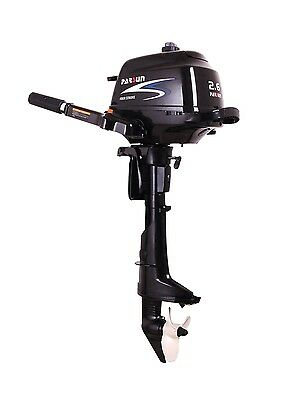 SPECIAL OFFER 2.6 hp Parsun outboard 4 stroke short  shaft boat engine F2.6ABMS