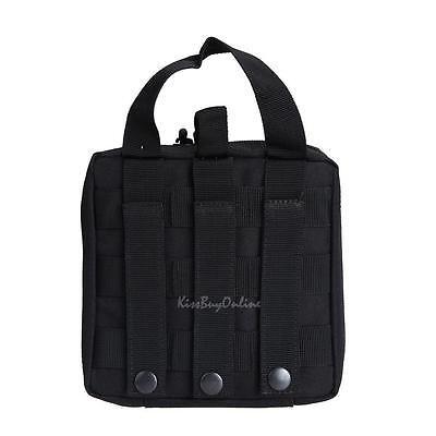 Molle Tactical Military EDC Utility Tool Case Medical First Aid Pouch Bag