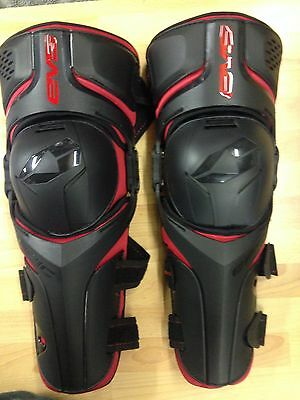 Evs Epic Adult Mx Enduro Quad Downhill Hinged Knee Shin Guards Protection