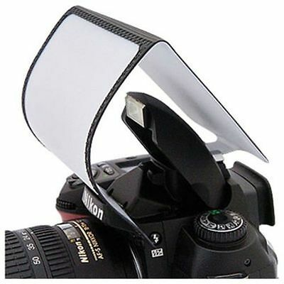 Universal Pop up Flash Diffuser Soft Box For DSLR Camera UK