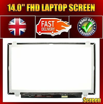 "HP EliteBook Folio 1040 G1 IPS Laptop Screen 14"" LED LCD FHD Display"
