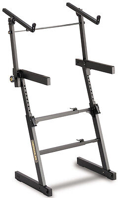 Hercules KS410B Twin Tier Z-Frame Keyboard Stand NEW