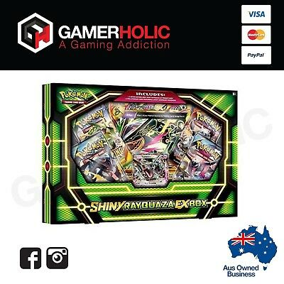 Pokemon Shiny Rayquaza EX Box - Pokemon TCG Collection Box Brand New