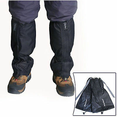 1 Pair Waterproof Outdoor Hiking Walking Climbing Hunting Snow Legging Gaiter