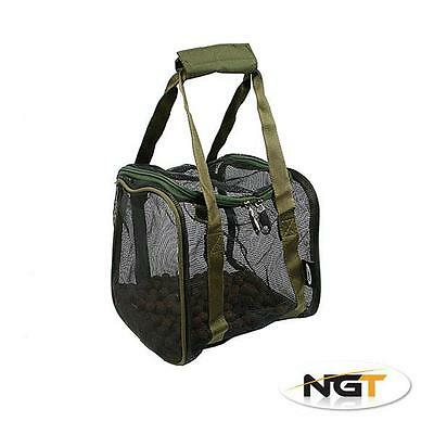 NGT Square Air Dry Boilie Bag with Hook Bait Pouch Medium (811)