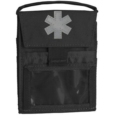 Helikon Pocket Med Insert Police Army Security Tactical ID Portable Case Black