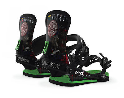 Union Snowboard Bindings - Dayze Custom House All-Mountain Freestyle - 2017