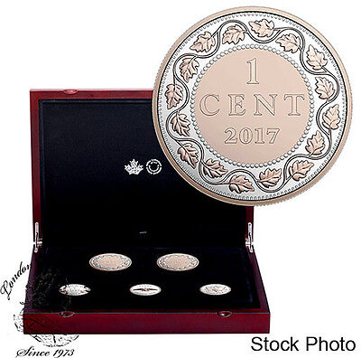 Canada 2017 Silver 1 Cent Legacy of the Penny Collection SOLD OUT AT RCM