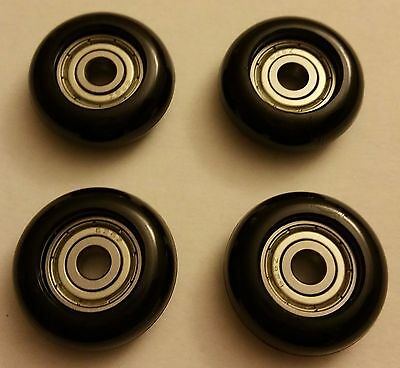 Set of 4 Brand New and Never Used Total Gym Replacement Wheels/Rollers