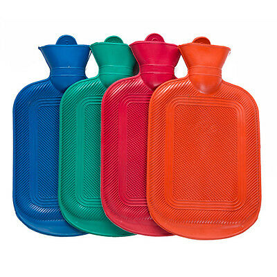 Winter Warm Rubber HOT Water Bottle Bag Relaxing Heat Therapy Cold Therapy