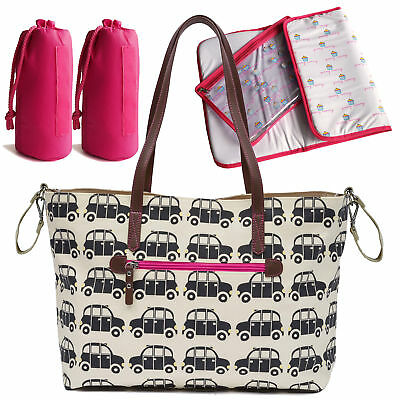 Pink Lining Sac À Langer Notting Hill Tote London Cabines