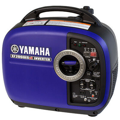 Yamaha ef2000is v2 2000 watt portable generator ef2000is for Yamaha generator 2000