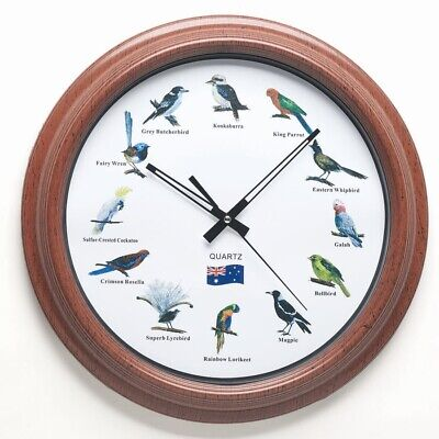 NEW Australian Bird Clock