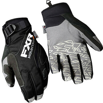 FXR Racing Attack Lite Mens Snowboard Skiing Snowmobile Gloves