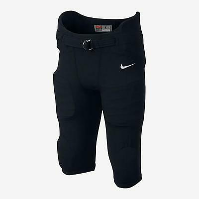 New Youth Boys Nike Pro Hyperstrong Integrated Football Pants With Pads - Black