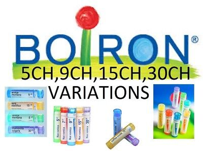 Boiron Homeophaty Single Remedy Variations 5CH,9CH,15CH,30CH