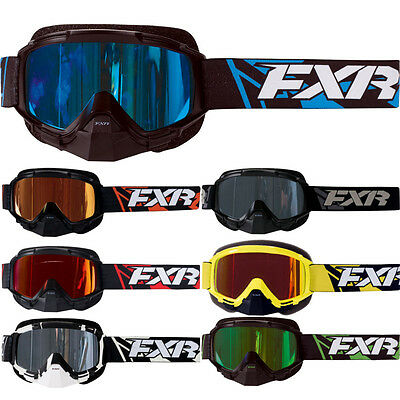 FXR Mission Recon Speed Mens Skiing Snowboard Snowmobile Goggles