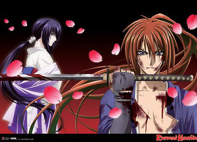 Rurouni Kenshin Movie Wall Scroll Poster Anime Manga NEW