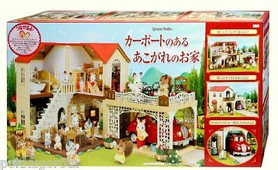 Sylvanian Families/Calico Critters Big House with Car Port Ha-46