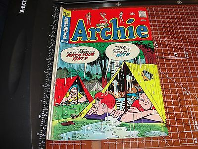 ARCHIE Comics #239 November 1974 JUGHEAD Camping with Principal WEATHERBEE