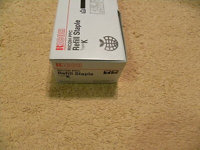 Ricoh Copier Ppc Refill Staple Type K (Only 1 Stack In Box)