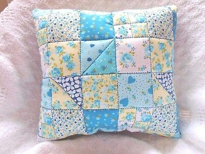 Patchwork Quilting Kit Cushion Craft Beginners Hand Or Sewing Machine Project