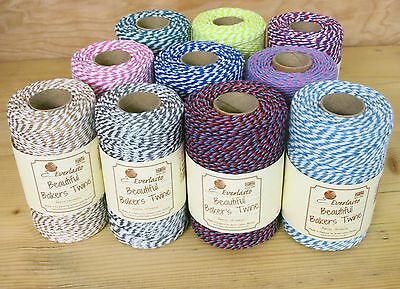 Everlasto Bakers Twine -lots of colours. Great for Christmas craft & gift wrap