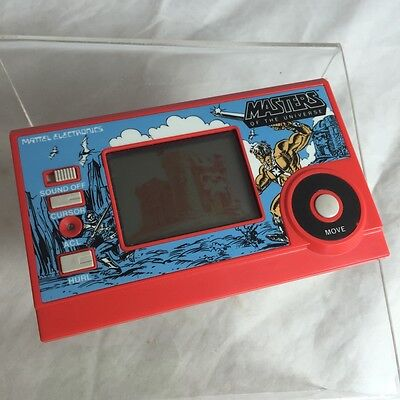 Vintage 1982 Mattel Electronics He-Man Masters Of The Universe Motu Lcd Game